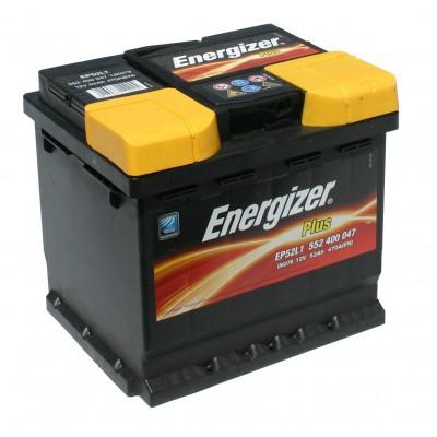 ENERGIZER PLUS AKUMULATOR 12V 52Ah D