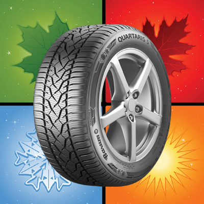 195/55 R15 BARUM QUARTARIS 5 85 H (E) (C) (72)