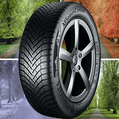155/65 R14 CONTINENTAL ALL SEASON CONTACT 75 T (C) (B) (71)