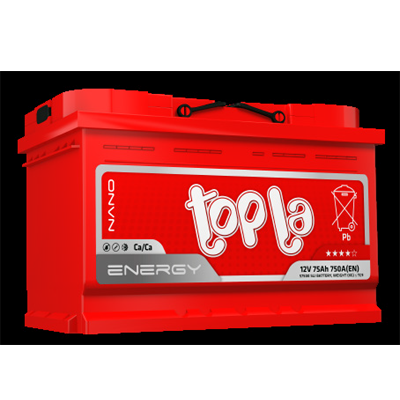 TOPLA ENERGY E66H AKUMULATOR 12V 66Ah D