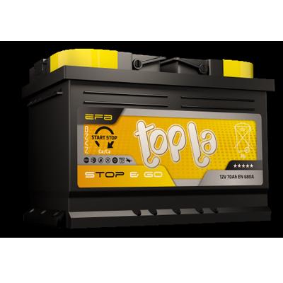 TOPLA EFB STOP & GO ASIA TSG65 AKUMULATOR 12V 65Ah D