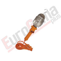 Lampa garažna 220v kabl 5m